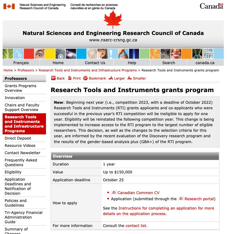 site-nserc-tools-grants